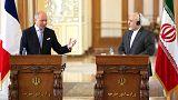 Irão: Laurent Fabius visita Teerão para relançar relações