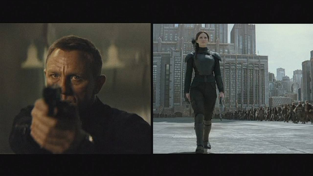 "Estreia anunciada de 007 ""Spectre"" e ""The Hunger Games"""