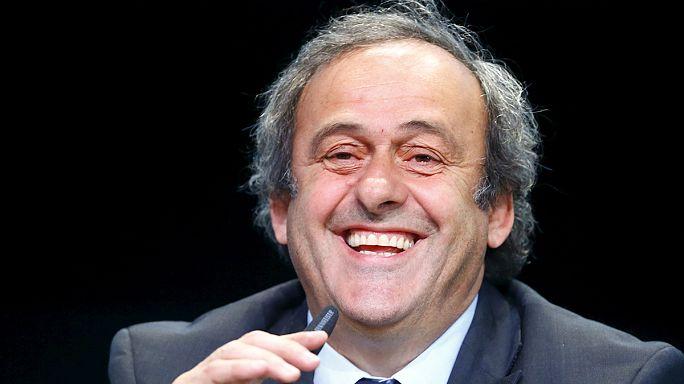 Michel Platini se porte officiellement candidat à la présidence de la FIFA