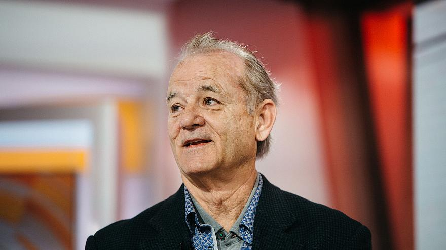 Image: Bill Murray on the Today Show on March 21, 2018.
