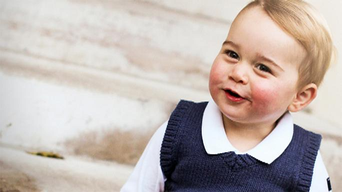 Prince George bags £18,000 birthday present