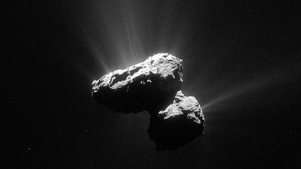 Rosetta comet's closest approach to the Sun