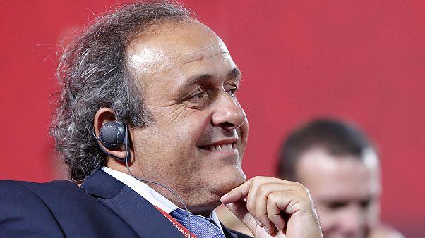 Platini candidat à la présidence de la FIFA