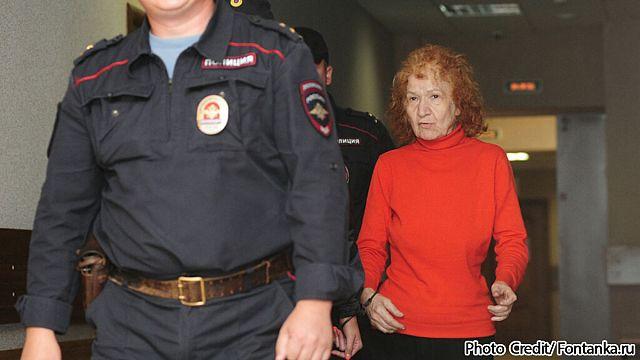 Пенсионерка-убийца арестована в Петербурге
