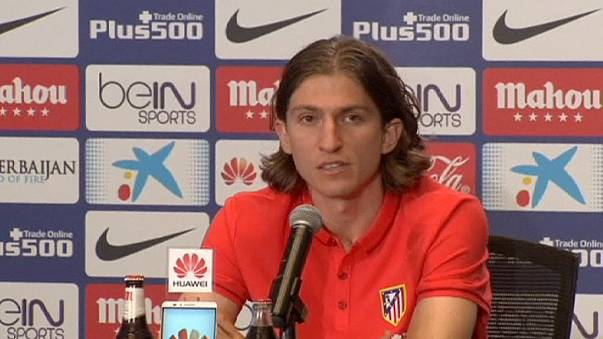 Filipe Luis yeniden Atletico Madrid'de