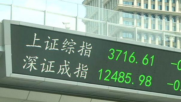 انهيار الاسهم الصينية