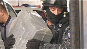 Romanian police make record heroin seizure