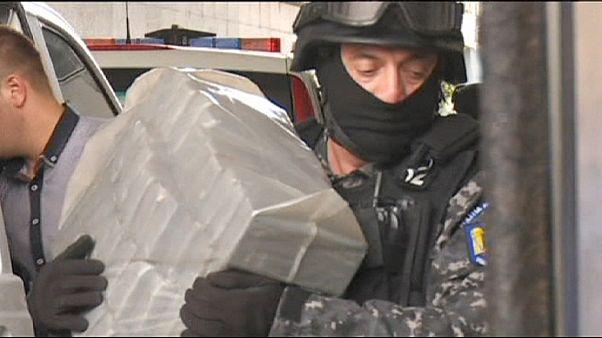 کشف ۳۲۰ کیلوگرم هروئین توسط پلیس رومانی