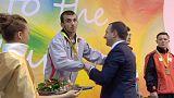 Tbilissi 2015: Vitória em casa no judo