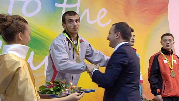 Avrupa Gençlik Olimpiyatları Festivali'nin üçüncü gününde madalyalar sahiplerini buldu