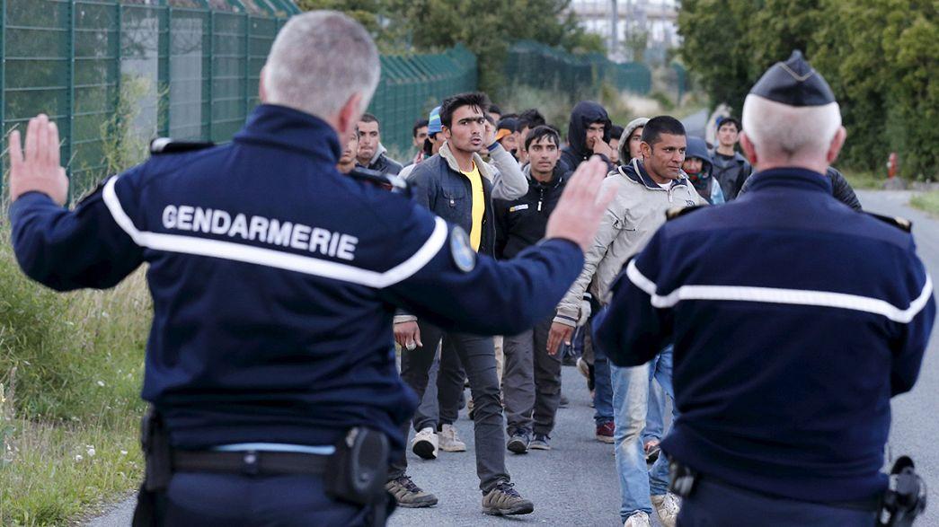 Londres s'inquiète de la situation des migrants à Calais