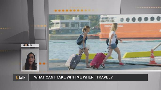 Que peut-on emporter dans ses bagages quand on voyage en Europe ?