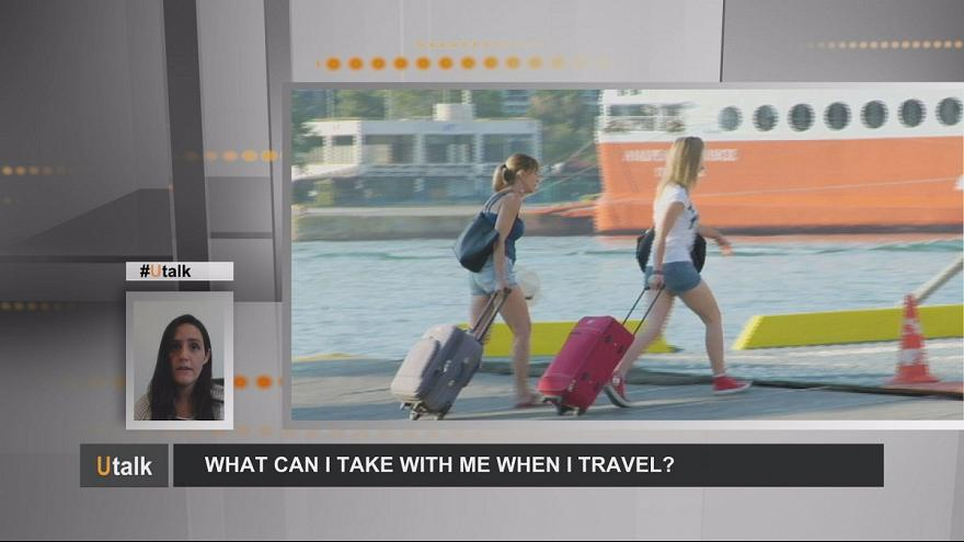 What can I take with me when I travel within the EU?