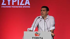 Greek PM suggests party referendum to overcome split in Syriza