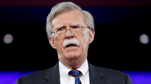 Image: Former U.S. Ambassador to the United Nations John Bolton speaks at t