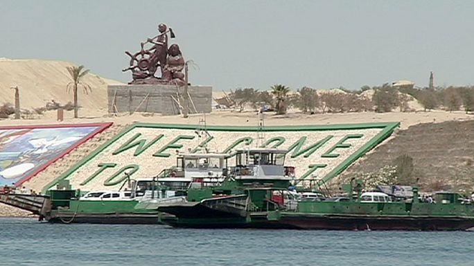 Egy hét múlva nyílik az új Szuezi-csatorna