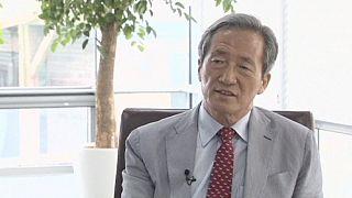 Chung Mong-joon FIFA başkanlığı için Platini'ye rakip oldu