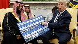 Image: Donald Trump, Mohammed bin Salman