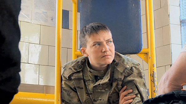 Ukraynalı pilot Shavchenko davası Rusya'da başladı