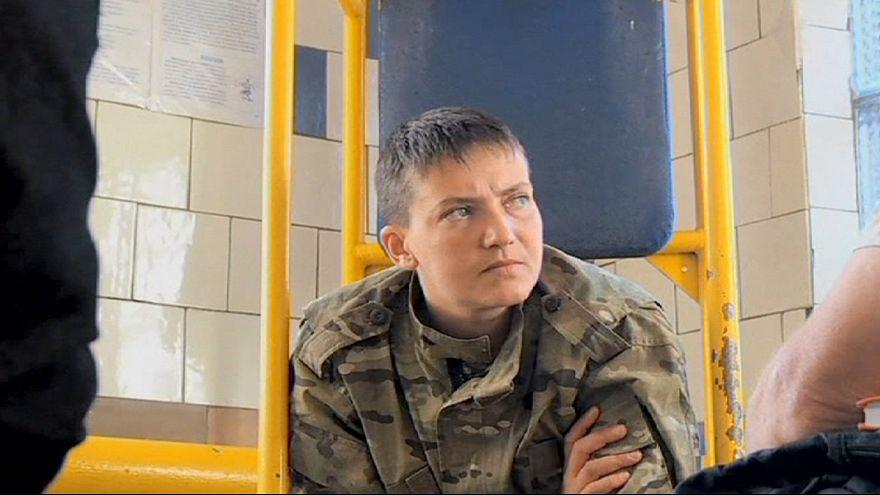 Si apre il processo alla pilota ucraina Nadia Savchenko