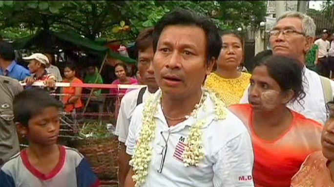 Myanmar'da hükümetin affıyla 7 bin kişi serbest