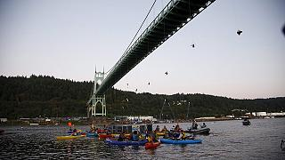 Estados Unidos sanciona a Greenpeace por bloquear el paso del buque de Shell