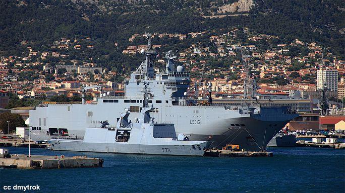 Navires Mistral : la France va rembourser plus d'un milliard d'euros à la Russie