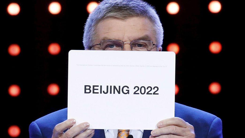 Pekín acogerá los Juegos Olímpicos de Invierno de 2022