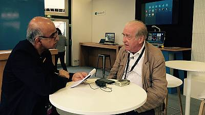 """A conversation with Michel Ciment, film critic and chief editor of French film magazine """"Positif"""""""