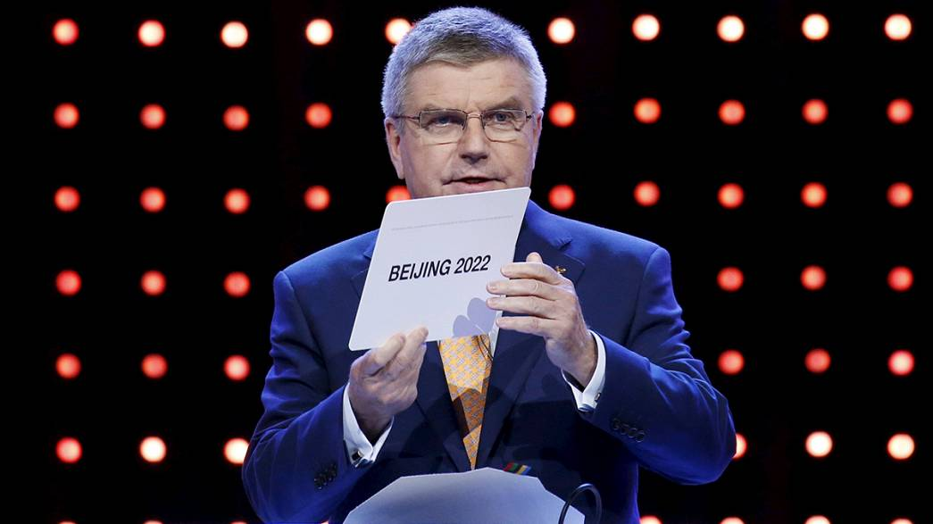 Beijing selected as 2022 Winter Olympics host