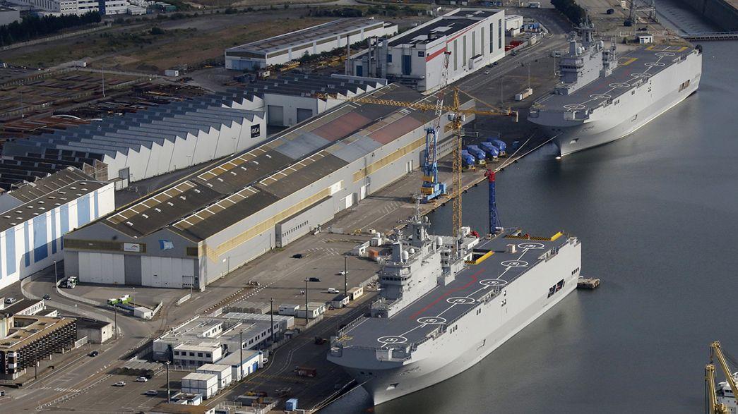 Contradicciones sobre un acuerdo en torno a los buques Mistral