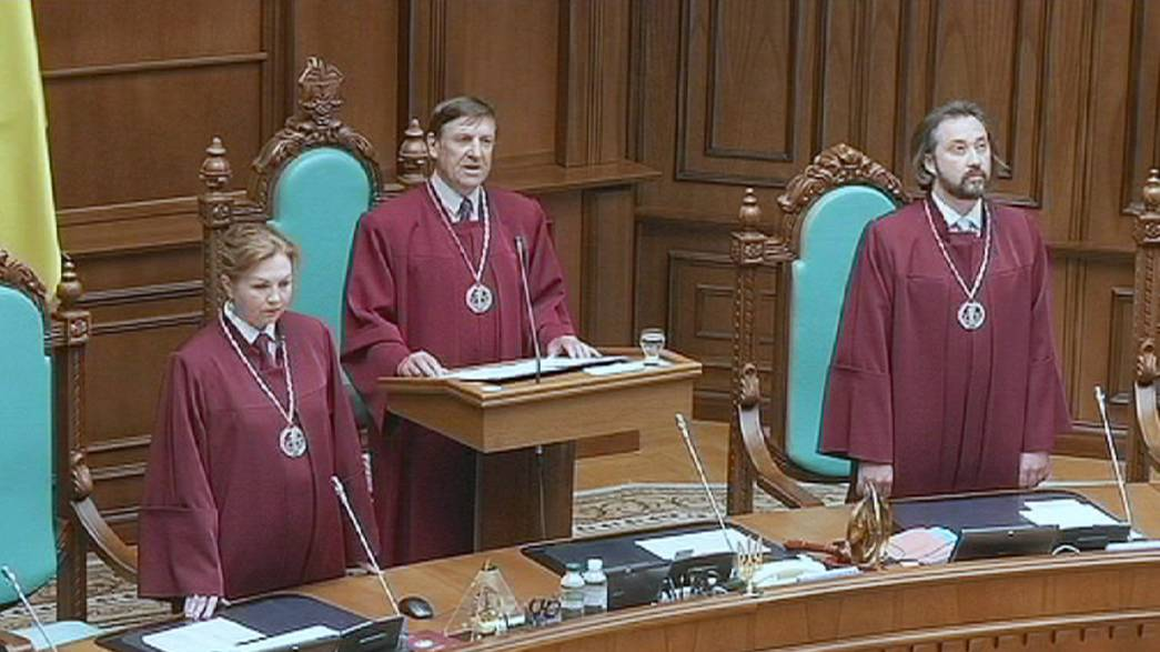 Ukraine's Constitutional Court approves self-rule plan for troubled east