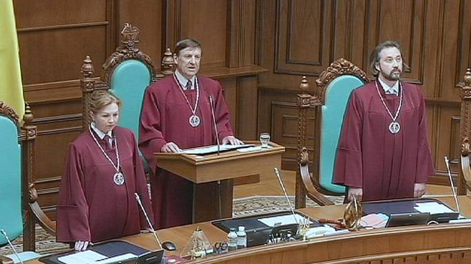 أوكرانيا: المحكمة الدستورية تقر اصلاحا دستوريا يمهد الطريق لمنح الشرق حكما ذاتيا اوسع