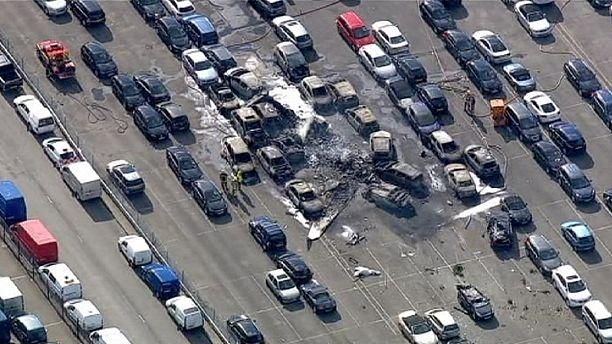 چهار کشته بر اثر سقوط یک هواپیمای کوچک در بریتانیا