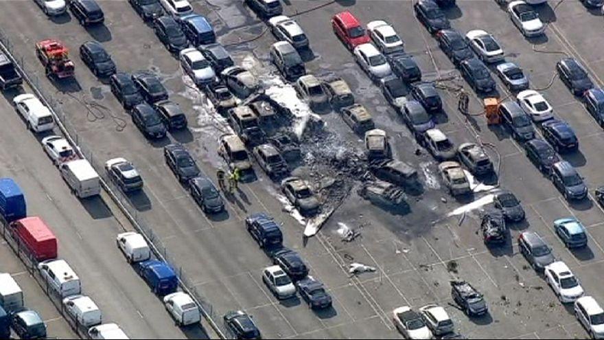 Крушение частного самолета на юге Англии: 4 погибших