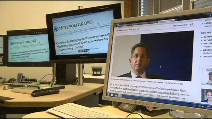 Germany suspends treason investigation into news website