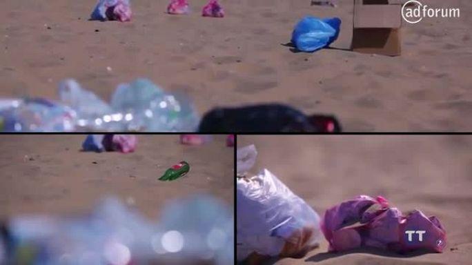 Keep Our Beaches Clean (Tunisie Telecom)