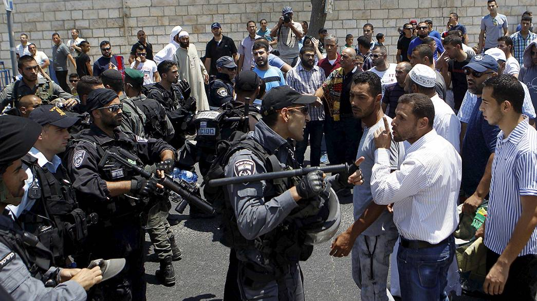 Fears of upsurge in violence following death of Palestinian infant