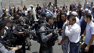 Mueren dos jóvenes palestinos en los disturbios provocados tras el asesinato de un bebé en Duma