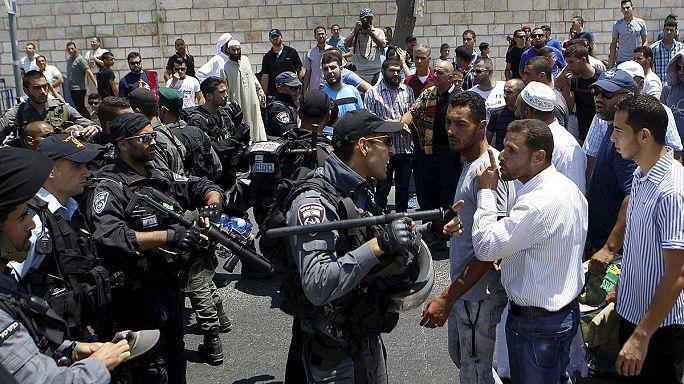 Nouvel épisode de violences après la mort d'un enfant palestinien