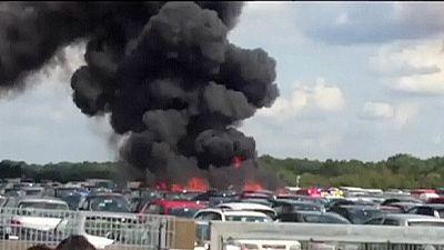 Mueren cuatro personas en un accidente de avioneta en el Reino Unido