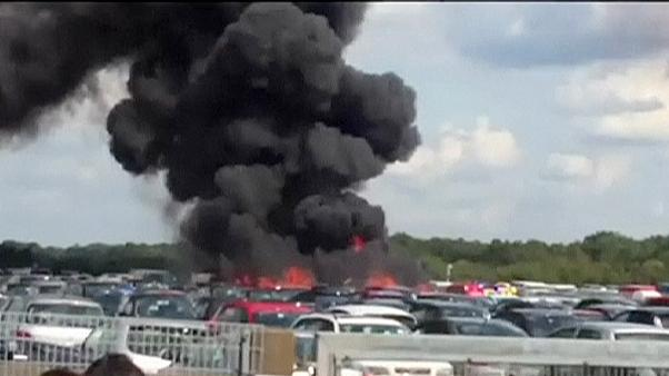 Bin Laden family jet crashes in England