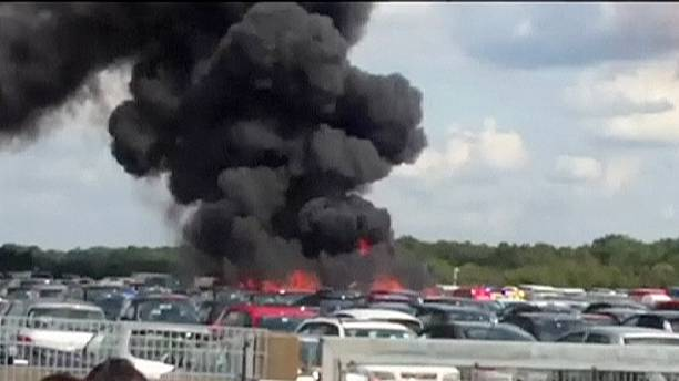 Bin Laden family jet crashes in England