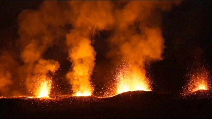 Réunion: vulcano in eruzione