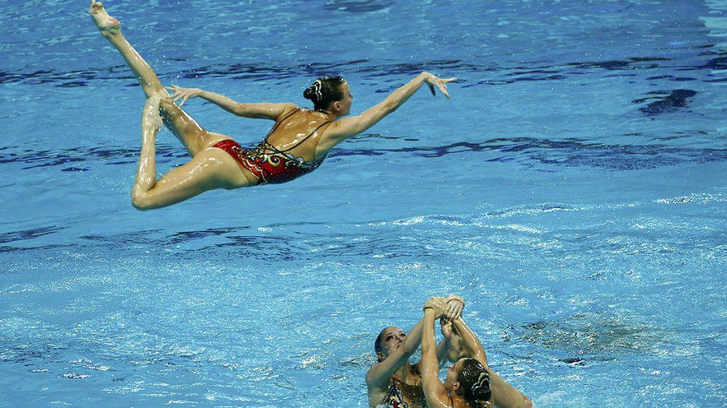 Schwimm-WM: Russland dominiert Synchronwettbewerbe