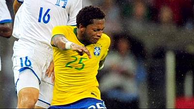 Brazil's Fred tests positive for banned substance