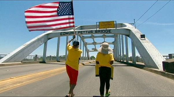 Amerika'nın tarihi Selma yürüyüşü başladı