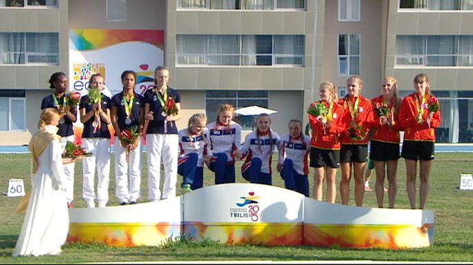 Fin du Festival olympique de la jeunesse européenne