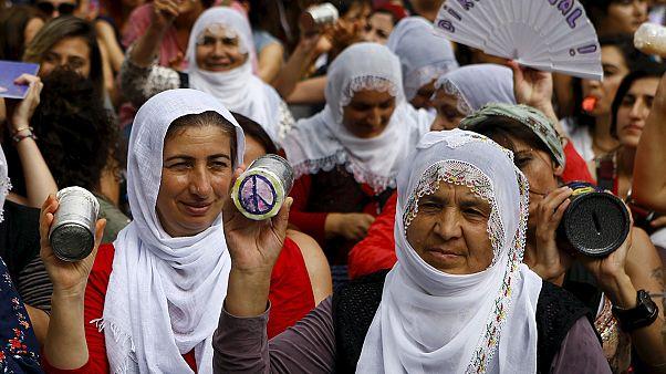 محکومیت کشتار غیرنظامیان در حملات ترکیه به پ کا کا