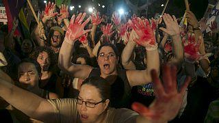Demonstration in Tel Aviv: Israelis fordern Ende der Gewalt im Westjordanland